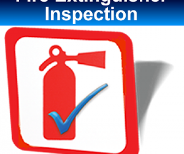 Refilling of fire extinguishers / inspection of fire extinguishers